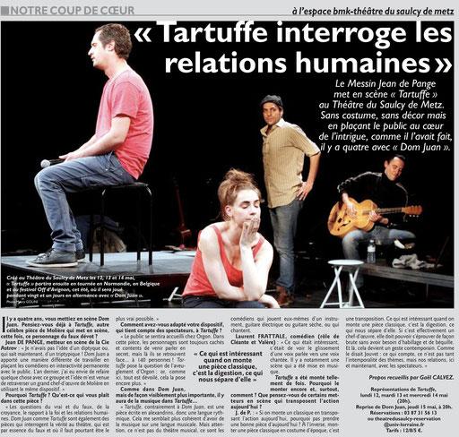 Le Républicain Lorrain, 11 mai 2014