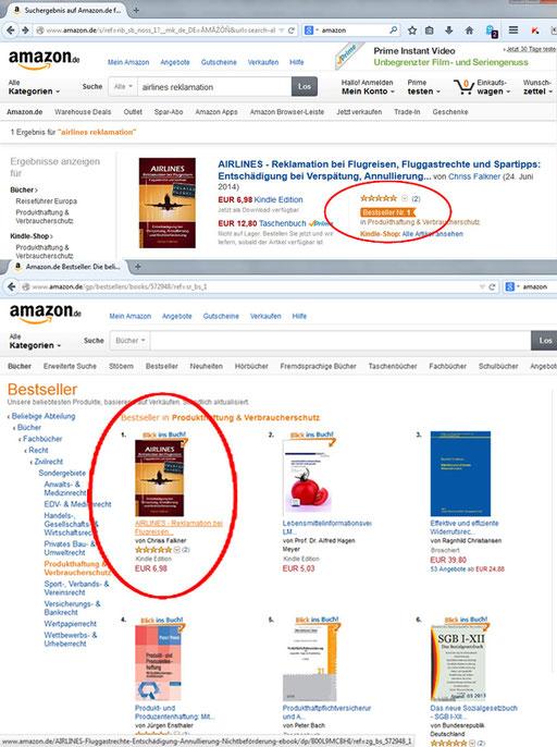 Foto No.1 Bestseller - ebook AIRLINES Reklamation bei Flugreisen