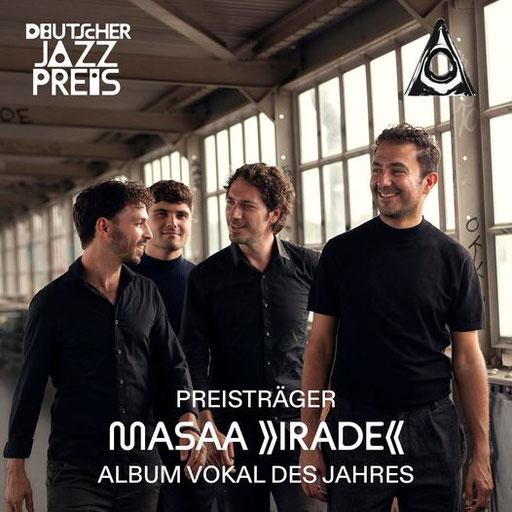 """Rabih Lahoud/Masaa: Preisträger Deutscher Jazzpreis 2021 in der Kategorie """"Album Vokal des Jahres"""""""