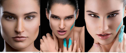 The Turquoise Subtlety (December 2013) Phohographer: Girish Tewani Photography MUA:Kirti Tahil Tewani