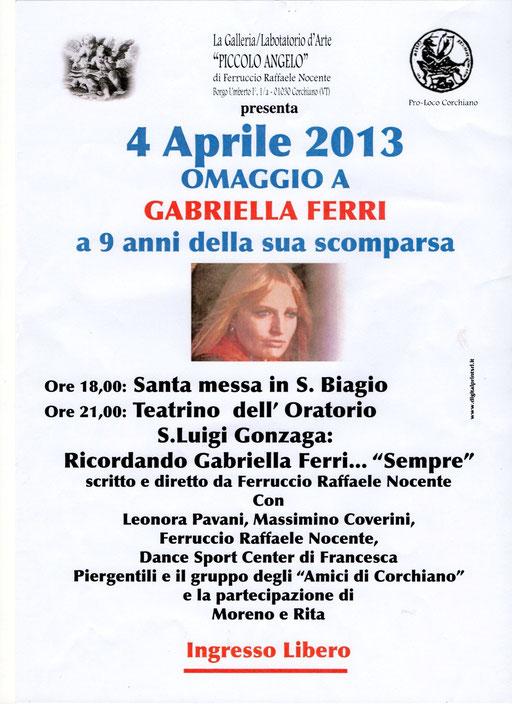 Omaggio a Gabriella Ferri