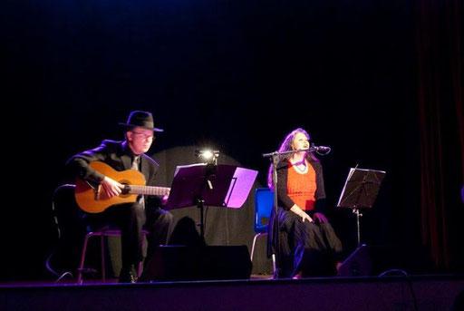 Claudio Moro e Beatrice Zuin