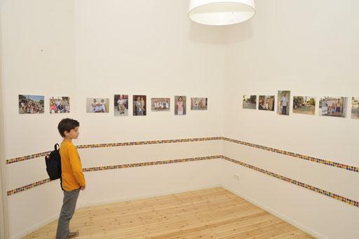 Eine Fotoausstellung erinnert im Arlnold Fortuin Haus an das Dorf Fântânele in Rumänien