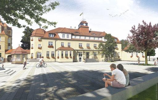 Rathausplatz Markkleeberg