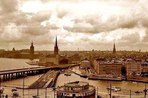 ein stimmungsvolles Photo von Stockholm