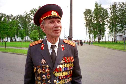 Ivanowitschs Auszeichnungen und Orden sind Zeichen die man erkennen sollte
