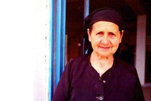 die Mutter von Mirko, die ganz selbstverständlich ein Teil der Familie war