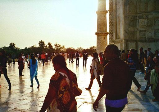 Der Abschied vom Tja Mahal fällt schwer
