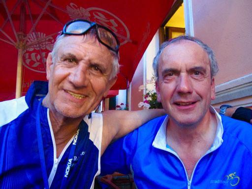 Klaus vom Spessart und sein bester Freund waren schon viele Male bei der BR-Rundfahrt dabei