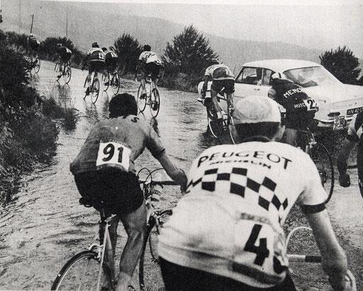 in der Tour de France gelten die Vogesen als eine Art Vorprüfung