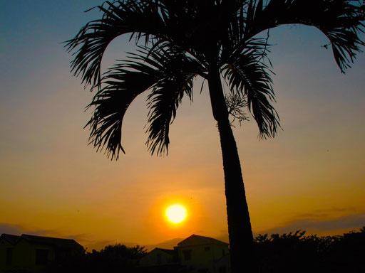 Sonnenuntergang in Hoi An
