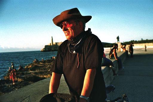 am bekannten Strandkai von Havanna