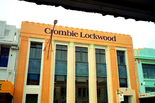 das Bankhaus Lockwood, eine typische Art Decor Fassade
