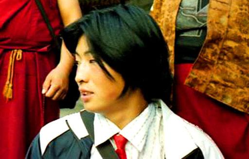 priviligierter tibetischer Pilger