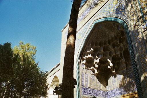dieser persische Iwan ist in seiner Ausformung nicht mehr zu steigern