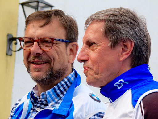 die beiden Chef-Organisatoren
