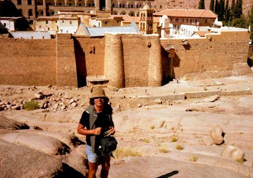 berauscht von der Geschichte, Sinai und Israel