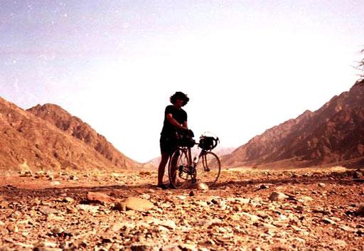 in diesem Wadi blies mir ein heisser Wüstenwind entgegen