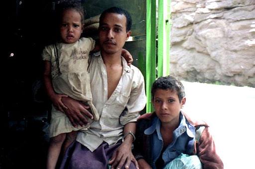 Ali, ein junger, stolzer Familienvater