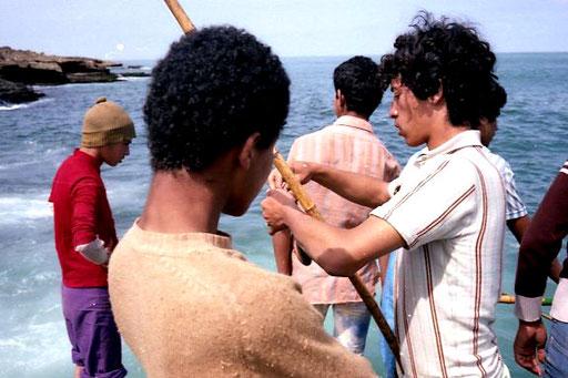 jede Angler-Gruppe hatte einen Chef