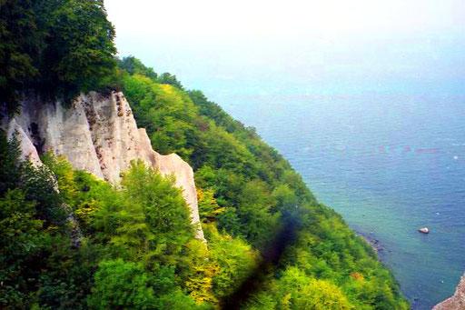 die Kreidefelsen am Pieckberg - 161 m hoch