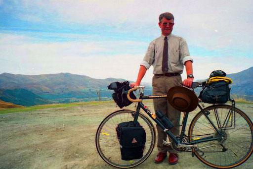 Peter fuhr mit mir zum Skipper Canyon hinauf
