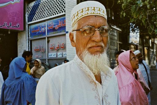 der Chef der pakistanischen Pilgergruppe