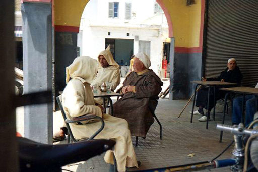 das gesellschaftliche Leben war echt marrokanisch, jeder war ein Berber