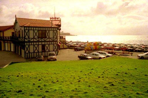 das Gelände des exclusiven Hafen-Restaurants