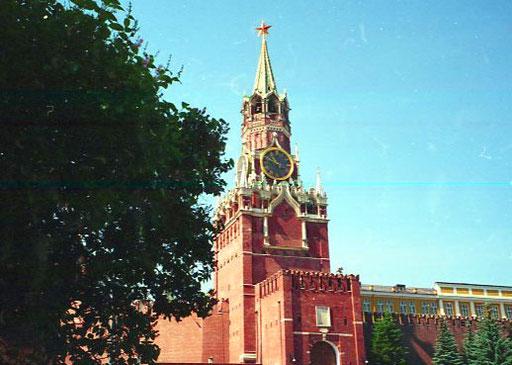 das Lenin-Mausoleum - Kreml - am roten Platz