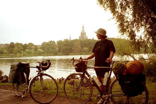 Blick auf die Strela bei Stralsund