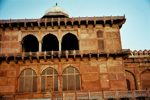 Fassadendetail am Tja Mahal
