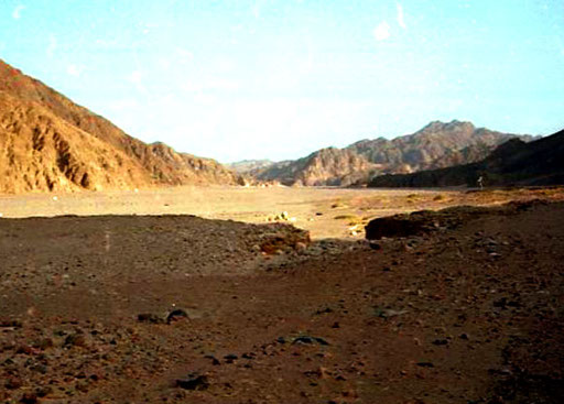die roten Fels-Berge des Sinai - ein einmaliges Erlebnis