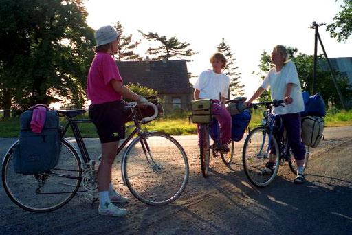 Erfahrungs-Austausch mit anderen Radl-Tourern