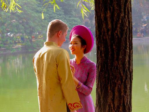 die perfekte Kulisse für ein Hochzeits-Photo