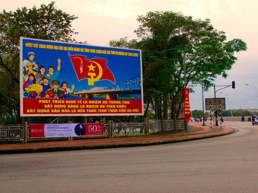 unübersehbar - der Staat Vietnam feiert seinen 70. Geburtstag