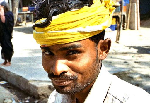 Bananenverkäufer
