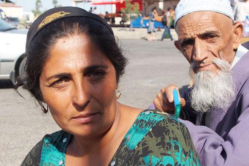 Fatima mit ihrem Vater