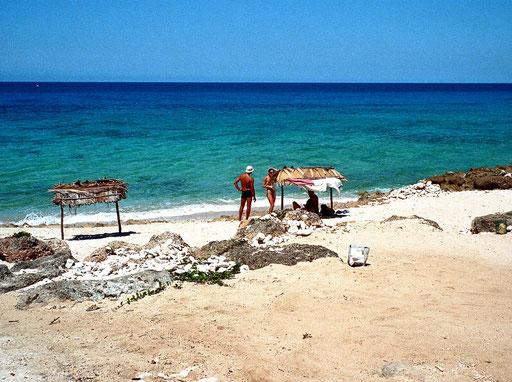 Playa Ancon - einsame Badebuchten