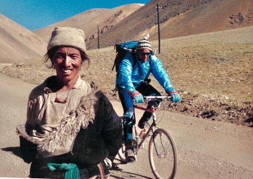nach dem Pass - Gerhard und ein stolzer Nomade