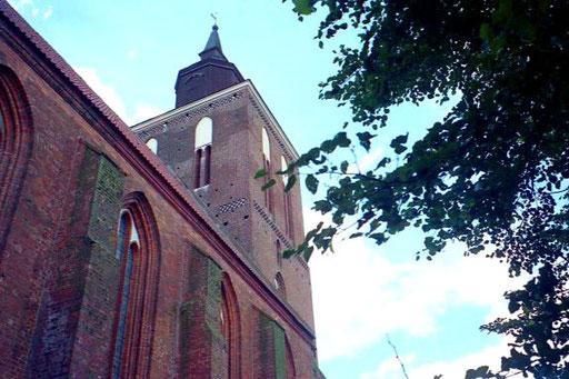 Marienkirche Backstein-Kathedrale erbaut 1276 mit 104 m hohen Turm