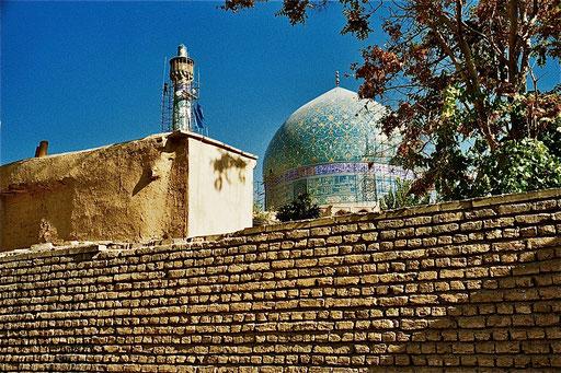 die äussere Moschee-Mauer
