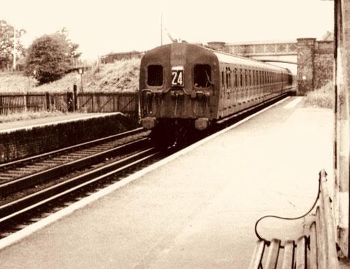 täglich fuhr ich von Shepperton nach London - Waterloo-Bridge