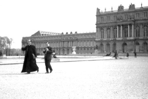 Garten-/Park--Fassade von Schloss Versailles