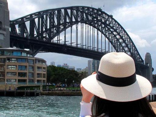 die Harbour-Bridge zu ersteigen war mein Final-Ziel