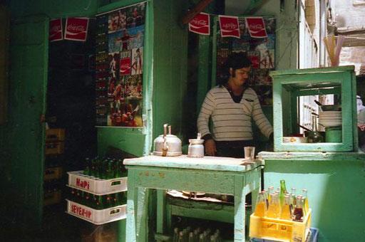 Trinkhalle mitten in der Altstadt