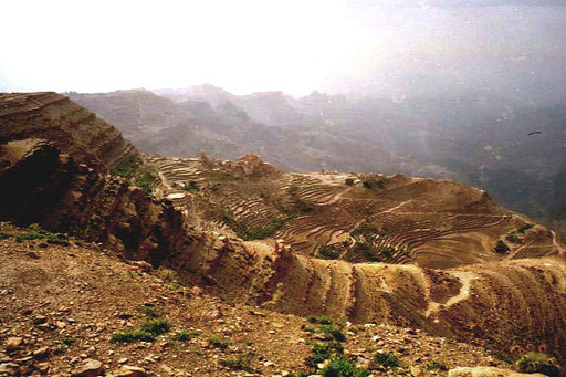 überwaätigend die Landschaft auf auf 2.000 m Hohe