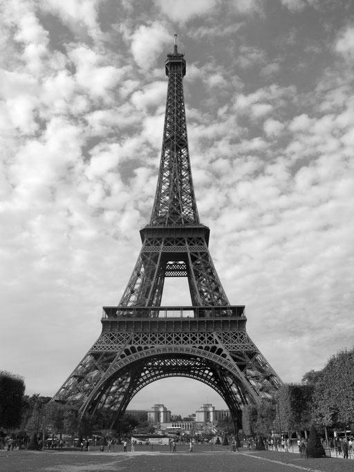 dieses Super-Motiv hatten wir auf unserer Tandem-Tour nach Paris stets vor Augen