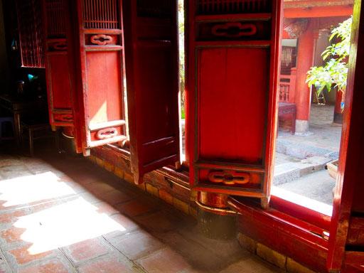 Eingang zum Tempelschrein