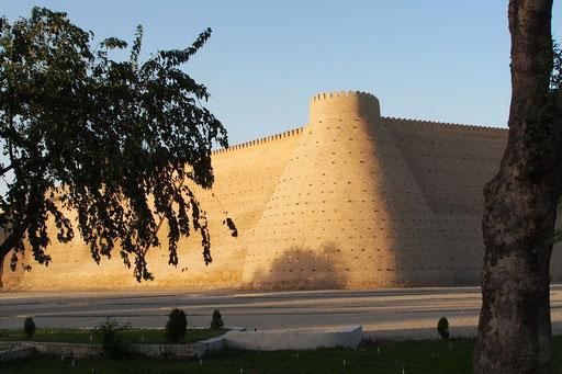 Buchara - die Zitadelle